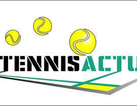 nº 12 pour Make a logo for TennisActu a new rebranding website about tennis par iliemitrea