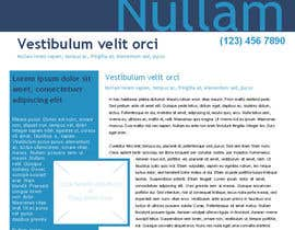 solleader tarafından Design a Newsletter for Baillieu Holst Weekly Newsletter için no 1