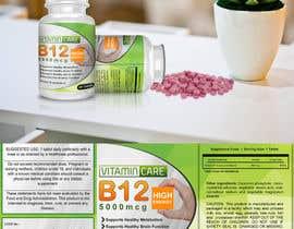 bigsoftwares tarafından Design a supplement Bottle Label for WeVita için no 45