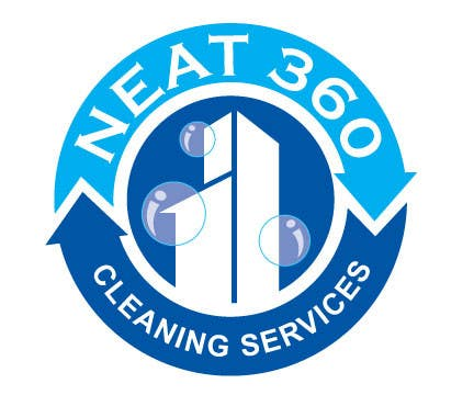 #62 for Design a Logo for Neat 360 Cleaning Services by subir1978