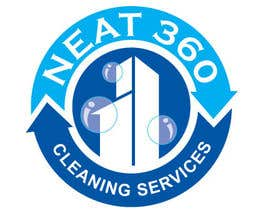 #62 para Design a Logo for Neat 360 Cleaning Services por subir1978