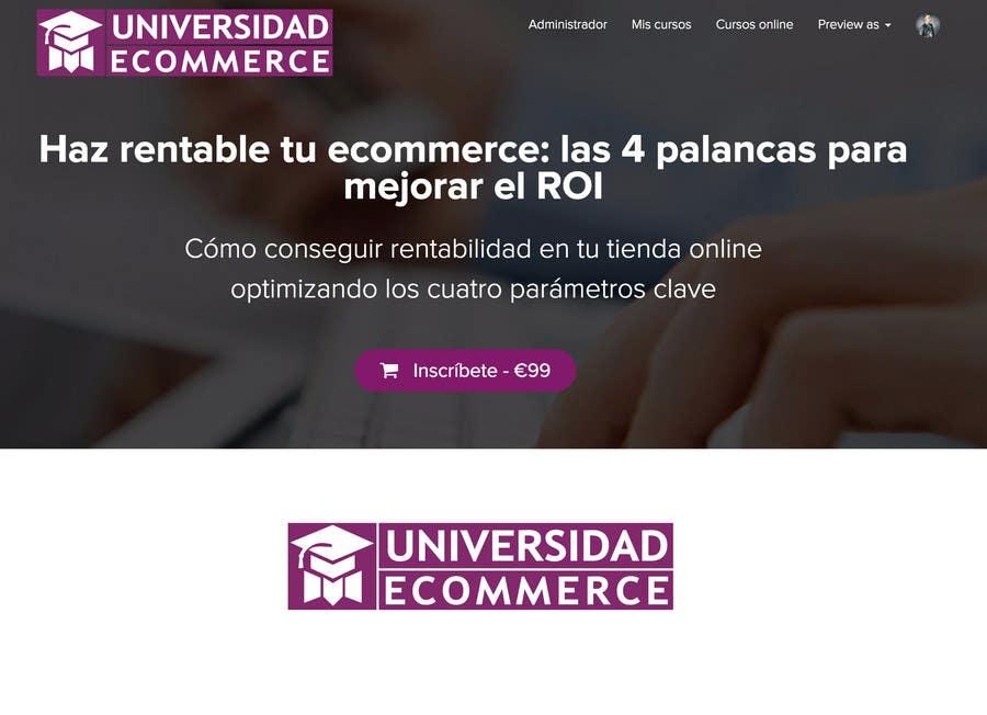 Penyertaan Peraduan #                                        31                                      untuk                                         Logo design for ecommerce university