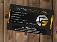 Contest Entry #10 for Design Business Cards and a logo for Capital Foundations an insurance advice business