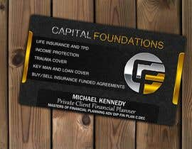 #10 cho Design Business Cards and a logo for Capital Foundations an insurance advice business bởi Amila0330