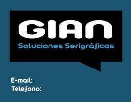 VascoIMedia tarafından Necesito algo de diseño gráfico for Gian Serigrafía için no 2