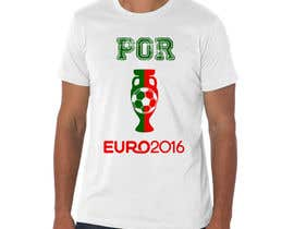 #6 for Create t-shirt design for Euro Cup 2016 by Exer1976