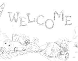 #28 untuk Childbook author website homepage illustration oleh karmachela