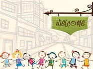 Graphic Design Entri Peraduan #3 for Childbook author website homepage illustration