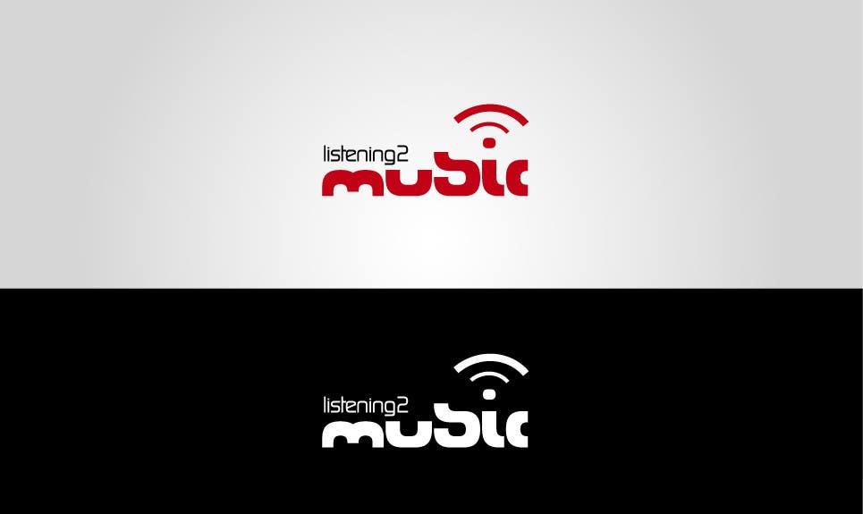 Inscrição nº 69 do Concurso para Logo Design for Listening to music