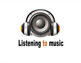 #161 para Logo Design for Listening to music por kingspouch