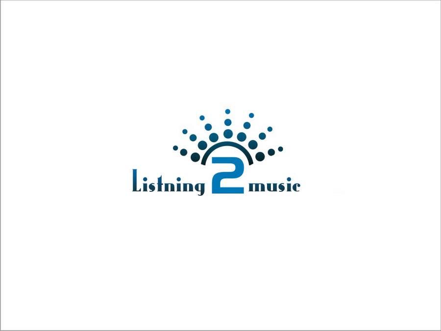 Bài tham dự cuộc thi #110 cho Logo Design for Listening to music