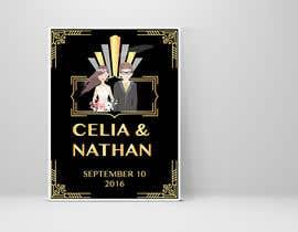 Nro 23 kilpailuun Custom wedding posters käyttäjältä tchendo