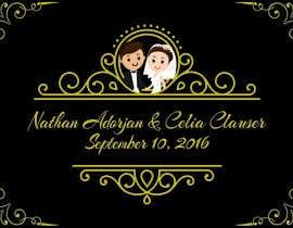 Nro 19 kilpailuun Custom wedding posters käyttäjältä amalinanh