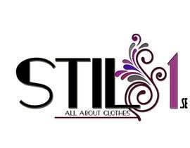 Nro 45 kilpailuun Designa en logo for Stil1.se käyttäjältä MadaU