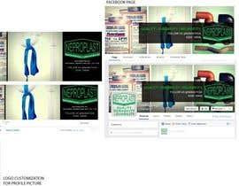 Nro 3 kilpailuun Design a Facebook landing page käyttäjältä greenp3a