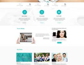 #26 para Home Page Design for a Corporate Site ( Would evolve into long term contract) por SadunKodagoda