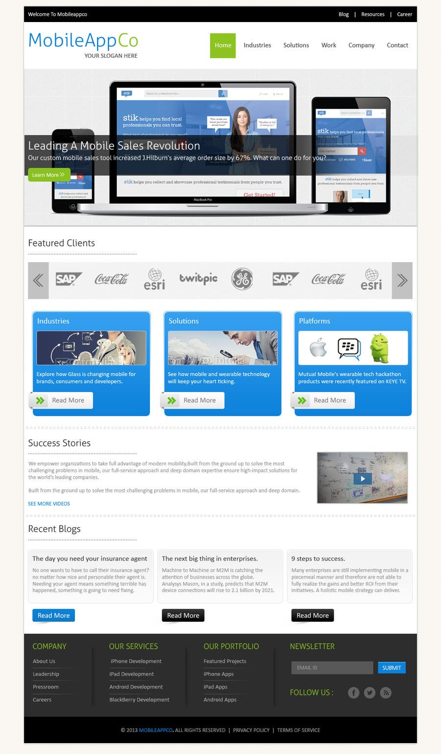 #9 for Home Page Design for a Corporate Site ( Would evolve into long term contract) by kreativeminds
