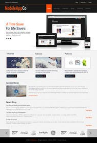 #10 for Home Page Design for a Corporate Site ( Would evolve into long term contract) by kreativeminds