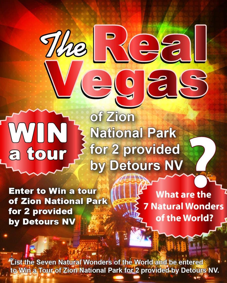 Penyertaan Peraduan #21 untuk Graphic Design for Vegas based contest