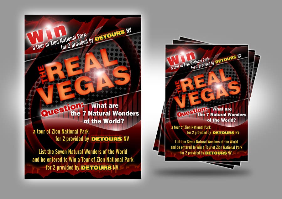 Contest Entry #                                        17                                      for                                         Graphic Design for Vegas based contest