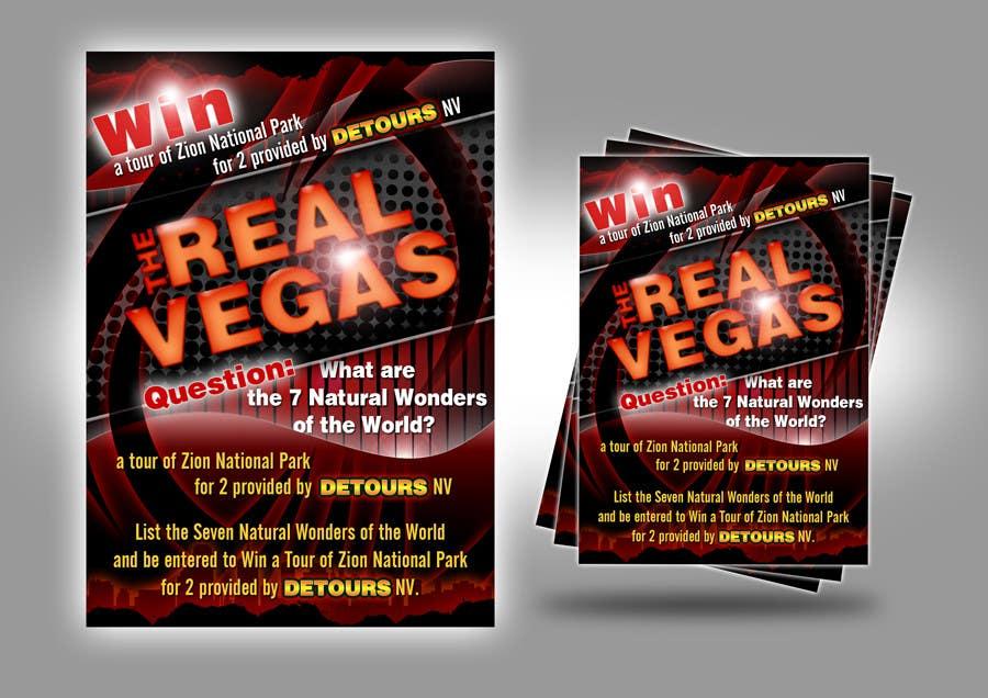 Konkurrenceindlæg #                                        17                                      for                                         Graphic Design for Vegas based contest
