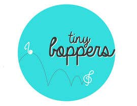 #25 for Design a logo for Tiny Boppers - a preschool music & movement class by brindhamenon