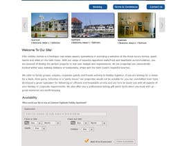#5 untuk Design Website for Holiday Appartment Booking Page - repost oleh dipakart