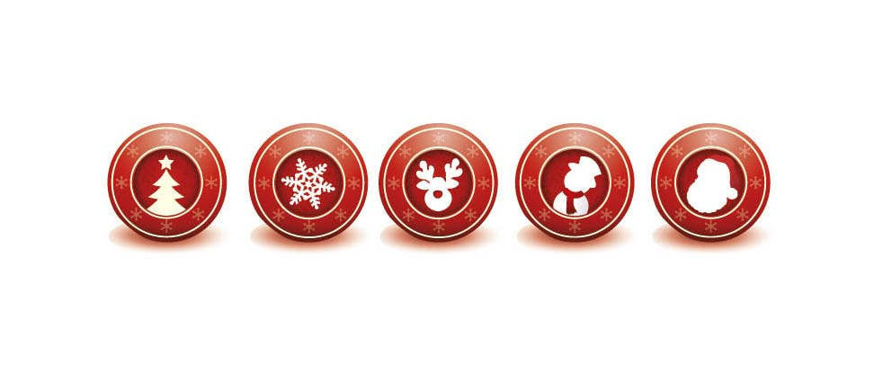 Contest Entry #                                        4                                      for                                         Design 5 Christmas Icons