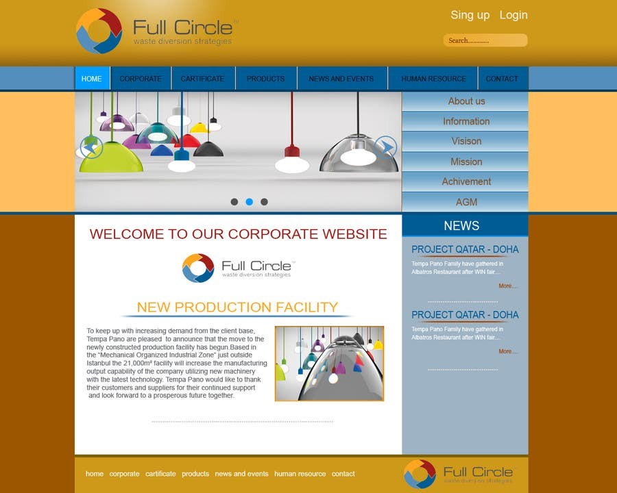 #2 for Landing page website design with 125 dollars follow up project for the winner! by Ismailjoni