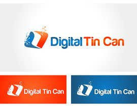 nº 33 pour Design a Logo for Digital Tin Can par thimsbell
