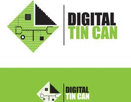 #44 for Design a Logo for Digital Tin Can by Syahriza