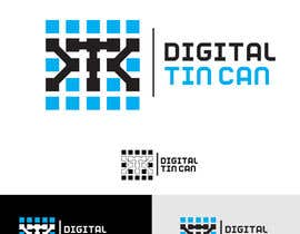 #48 for Design a Logo for Digital Tin Can af Syahriza