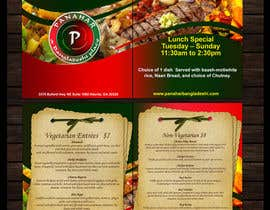 vesnajovanovic tarafından Design an Advertisement: Create a Restaurant Lunch Menu için no 11