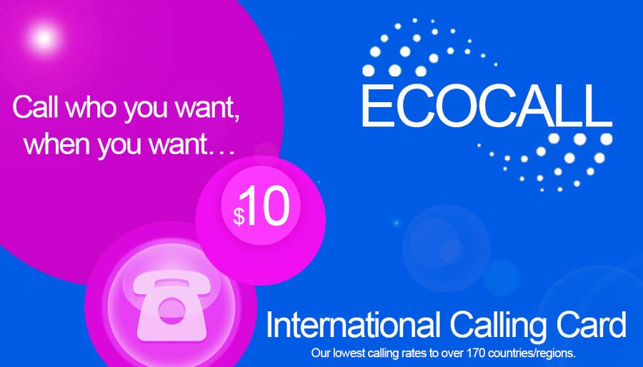 #9 for Prepaid Calling Card Design by claudiarecords