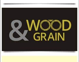 #1 para Design a Logo for Wood & Grain por indraDhe
