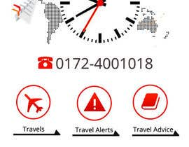 #15 cho Design the main page for a travel security app bởi MagicalDesigner