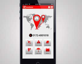 #33 cho Design the main page for a travel security app bởi MagicalDesigner