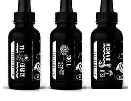 Nro 10 kilpailuun Label Design for e-liquid käyttäjältä masudparvaj2016