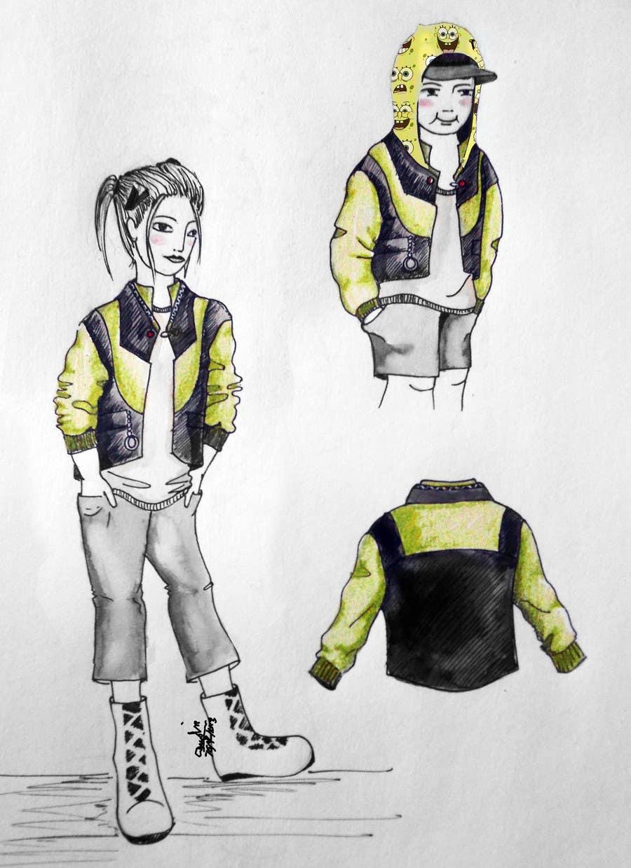 Inscrição nº 20 do Concurso para Design some Kids Outerwear