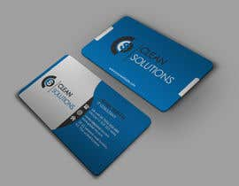 Nro 63 kilpailuun Business Card - Clean Solutions käyttäjältä HD12345