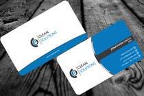 Business Card - Clean Solutions için Graphic Design46 No.lu Yarışma Girdisi
