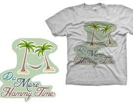 "#23 untuk Design a T-Shirt for ""Do More Hammy Time"" oleh Arts360"
