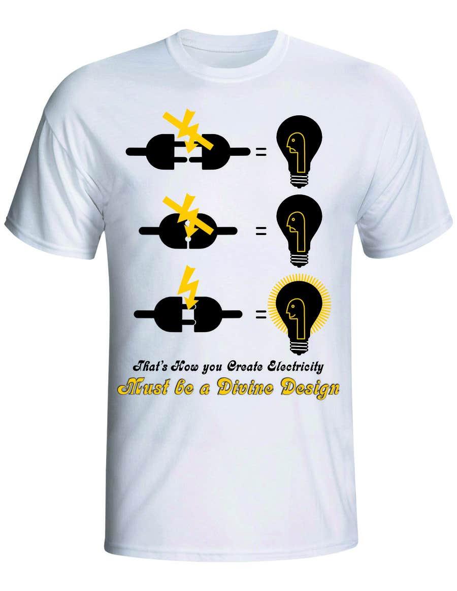 Konkurrenceindlæg #3 for Design a T-Shirt for Devine Design
