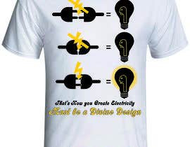 nº 3 pour Design a T-Shirt for Devine Design par production347
