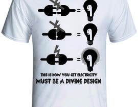 nº 7 pour Design a T-Shirt for Devine Design par production347