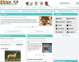 Nro 34 kilpailuun Design a (simple) logo for an editorial website about dogs käyttäjältä varsharthi