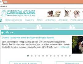 Nro 49 kilpailuun Design a (simple) logo for an editorial website about dogs käyttäjältä ryakou