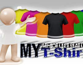 #25 for Design a Logo for a T-shirt wholesale website by ammarmeza