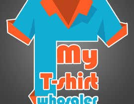 #39 for Design a Logo for a T-shirt wholesale website by power020493