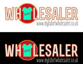 #32 para Design a Logo for a T-shirt wholesale website por Chinvie
